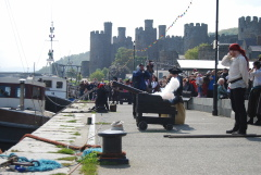 The response from the Conwy quays