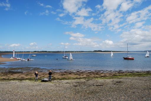 The Menai sailing school invasion