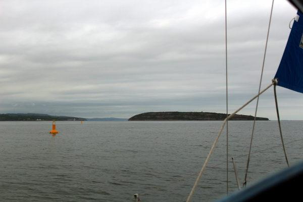 Yellow special mark buoys