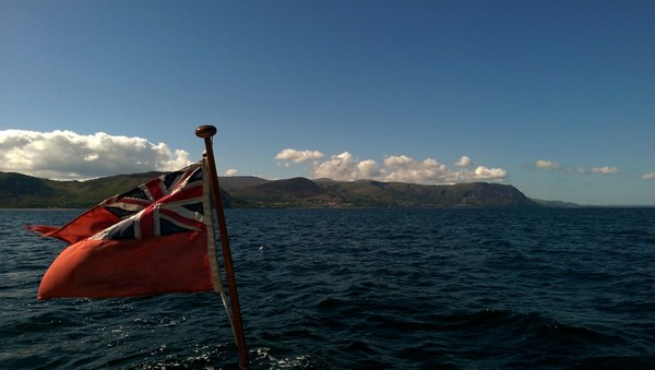 Out in Conwy bay