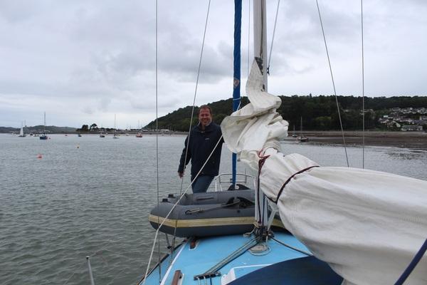 Ready to go ashore in Beaumaris