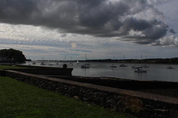 Port Dinorwic, looking towards Caernarfon