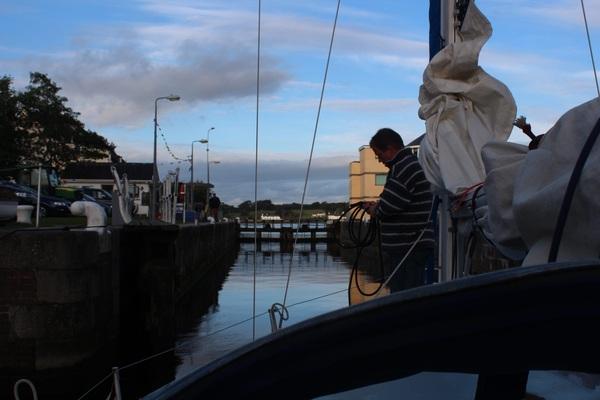 Leaving Port Dinorwic
