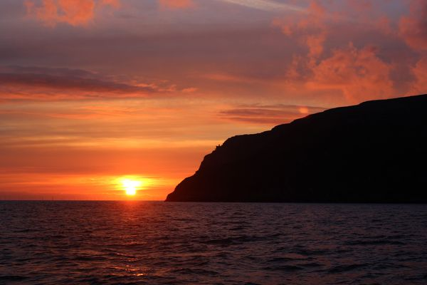 Sunrise on the Great Orme