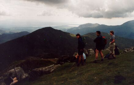 The Snowdon south ridge