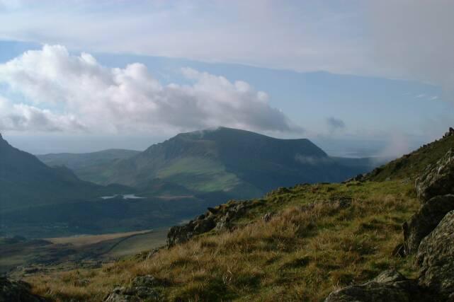 View towards Moel Mynydd