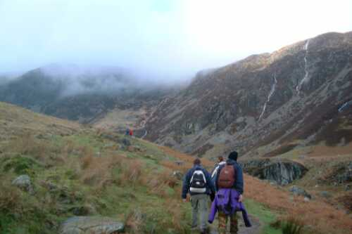 Into the fells