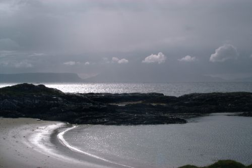 Views on Rhum and Eigg