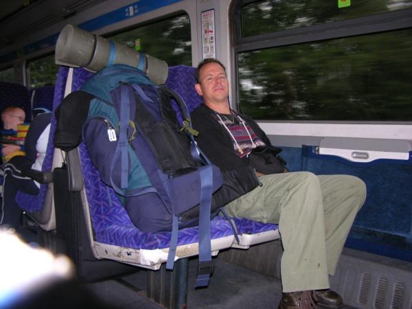 Train from Gobowen to Bristol