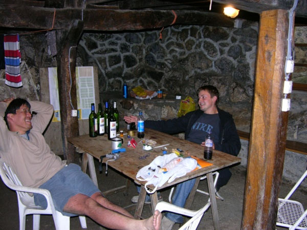 Tomoki, Euwan and the bottles